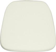 Soft Ivory Fabric Chiavari Chair Cushion