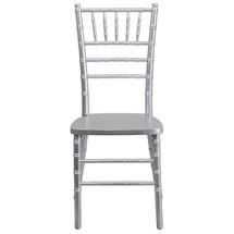 Silver Wood Chiavari Chair