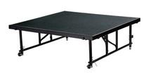 "24"" -32"" Height Adjustable 4' x 4' Transfix Stage Platform, Hardboard Floor"