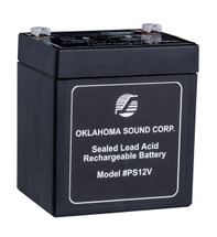 Power Sonic 12 Volt 5-Amp Rechargeable Battery