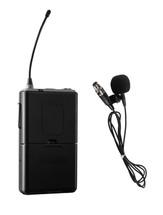 Wireless Mic for 40 Watt Wireless PA System - Tie-Clip/Lavalier