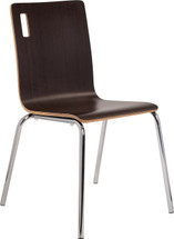 Bushwick Café Chair, Espresso