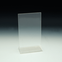 4x6 Top Loading Counter Top Ad/Print Holder