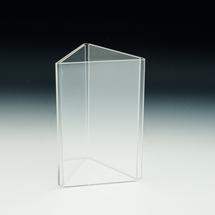 Three Sided Counter Top Ad/Print & Menu Holder