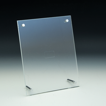 Clear Euro-Style Print Holder - 8.5x11