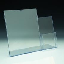 TRU-VU® Combo Literature Holder and Brochure Pocket