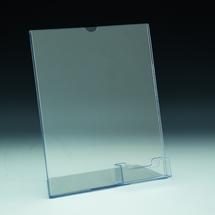 TRU-VU® Combo Literature Holder and Business Card Pocket