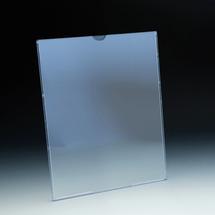 TRU-VU® Wall Mount Sign Holder for 8x10 Literature