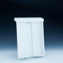 Outdoor Wall Mount Brochure Holder for 8.5x11 Literature