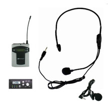 Add On - Panel Mount Receiver with Lapel & Headset Mic Kit (Factory Installed)