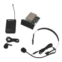 Add On - Titan Panel Mount Receiver with Lapel & Headset Mic Kit (Factory Installed)