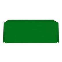 """6' Green, Valuecover, Wrinkle Resistant, Full, Pleated, 30""""H, Non-FR, 300D"""
