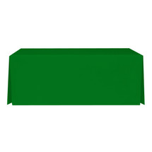 "8' Green, Valuecover, Wrinkle Resistant, Full, Pleated, 30""H, Non-FR, 300D"