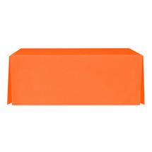 """8' Orange, Valuecover, Wrinkle Resistant, Full, Pleated, 30""""H, Non-FR, 300D"""