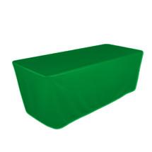 "8' Green, Valuecover, Wrinkle Resistant, Full, Fitted, 30""H, Non-FR, 300D"