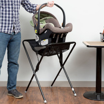 Black Assembled Infant Seat Kradle