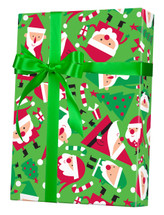 X6326, Santa Soiree - Available 2 widths and 3 roll sizes