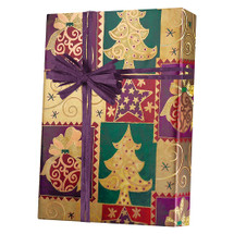 X7114, Elegant Christmas - Available 2 widths and 3 roll sizes