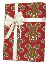 NEW! X7908, Gingerbread Men - Available 3 widths and 3 roll sizes