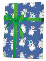 NEW! X7910, Well Dressed Snowmen - Available 3 widths and 3 roll sizes