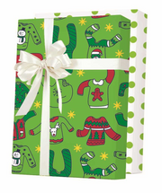 NEW! X7924, Ugly Christmas Sweaters Reversible - Available 3 widths and 3 roll sizes