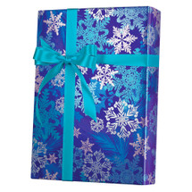 X9053, Snowflake Swirl - Available 2 widths and 3 roll sizes