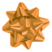 "A50302, Splendorette Star Bow, 3-3/4"", Holiday Gold"