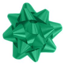 "A50319, Splendorette Star Bow, 3-3/4"", Emerald"