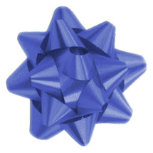 "A50313, Splendorette Star Bow, 3-3/4"", Royal"