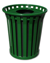 24 Gallon Wydman Shopping Center Receptacle (3 colors, flat top)