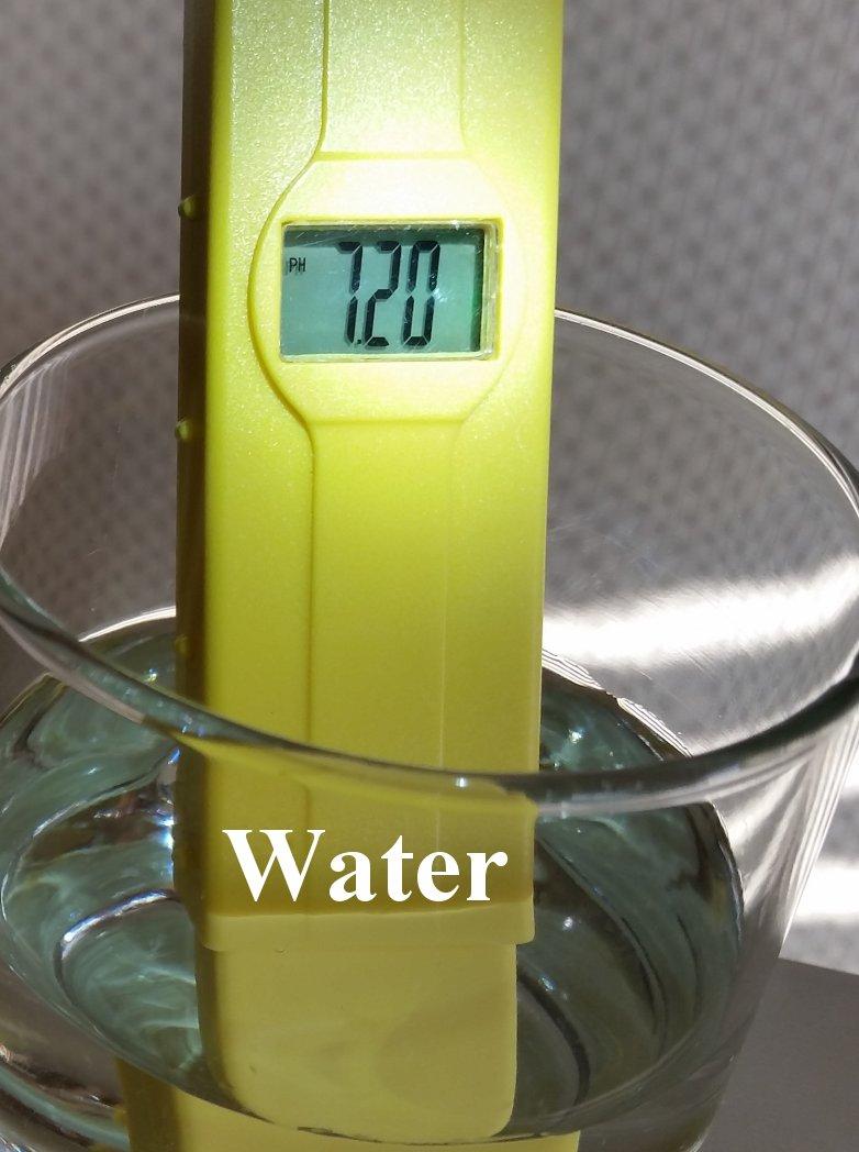 pH balance of water