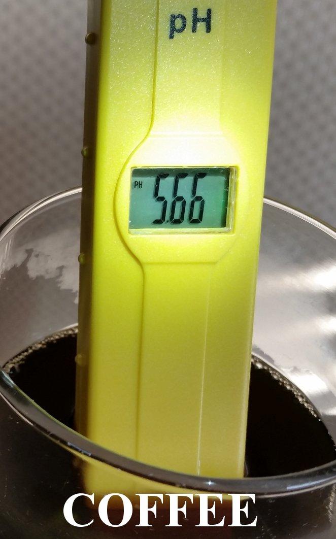 pH in Coffee
