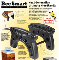 The Ultimate Hive Stand for 10 Frame Langstroth Hives SHIPS FROM FACTORY