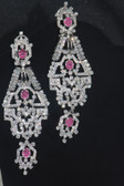 Hand Crafted Silver Collection - Pink Crystals