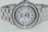 Womens Breitling Colt Oceane Mother of Pearl Diamond Watch