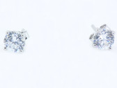 4 Carat Birthstone Earrings - S76