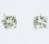 8 Carat Birthstone Earrings - S80