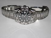 Mens Rolex GMT Master II Diamond Watch