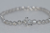 14k Round Cut Diamond Bracelet - EK02