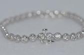 14k Round Cut Diamond Bracelet - EK02