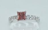 Fancy Pink Diamond Ring - EK26