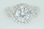 Round Cut Diamond Engagement Ring - EK29