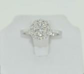 1.56 Round Cut Diamond Carat Ring - EK53