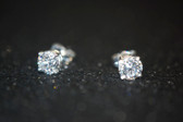 1.00 TCW, 14K White Gold Loucriz Earrings - LC174WG
