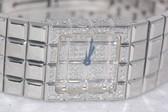 Womens Chopard Happy Ice Cube Diamond Watch