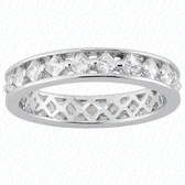 Princess Diamond Eternity Band - EWB490