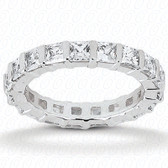 Princess Bar Set Diamond Eternity Band - EWB492