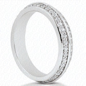 Round Brilliant Bead Set Diamond Eternity Band - EWB4481