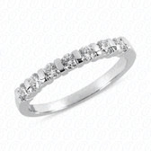 Round Brilliant 7 Stone Bar Set Diamond Wedding Band - WB2771