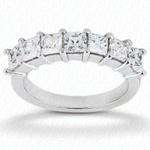 Princess Prong Set Diamond Wedding Band - WB2732